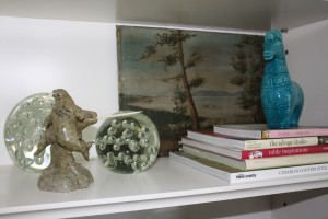 Artwork, objects & books