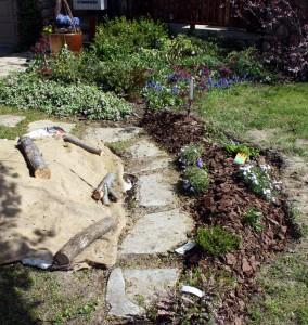 "My ""work-in-progress"" front garden"