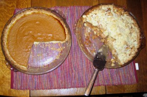 Not one, but TWO kinds of pie!