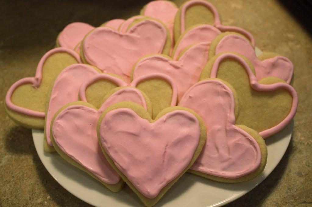 Sweet Heart cookies