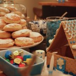 Dreidels and donuts are staples of Hanukkah