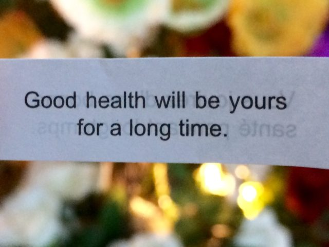 A very timely fortune cookie